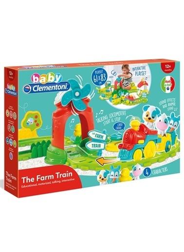 Clementoni 17385 Baby Clementoni Çiftlik Treni / +12 Ay Renkli